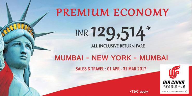 Air china new york