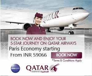 Paris Economy starting From INR 59066