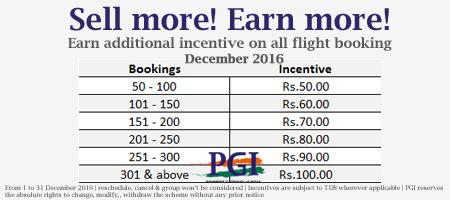 Flight Incentive December