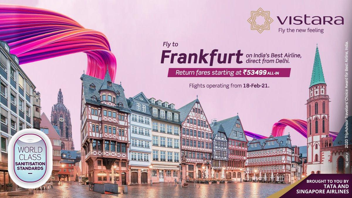 Vistara frankfurt