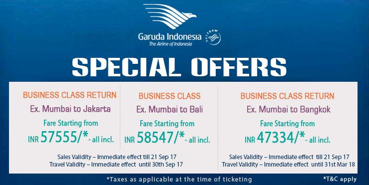 Garuda special offer