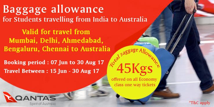 qantas bagaggage allowance